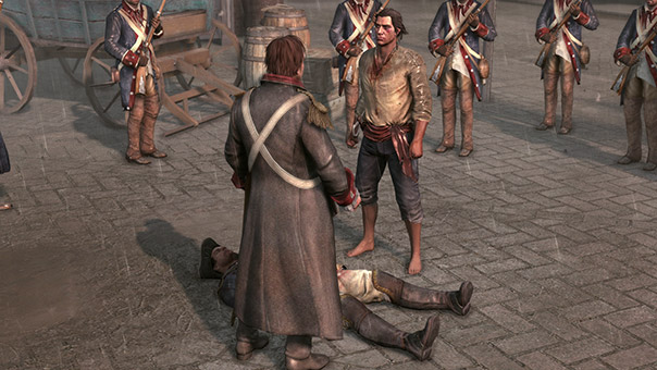 Assassin's Creed III - Public Execution