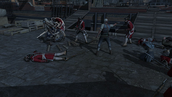 Assassin's Creed III - The Tea Party