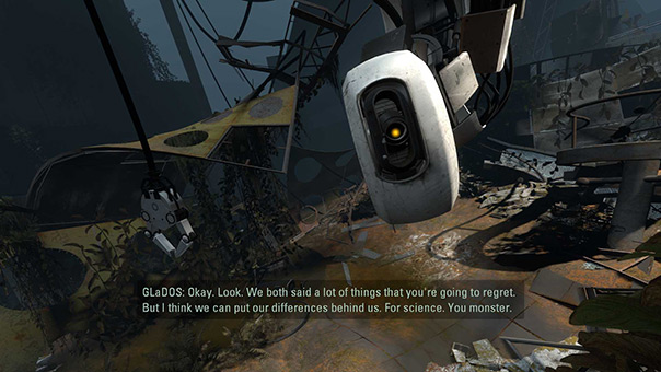 Pacing in Puzzle Games on the Example of Portal 2