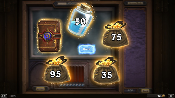 The 5 Extra Coins in Hearthstone
