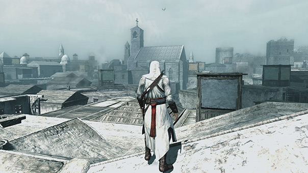 HUD-less Design of Assassin's Creed 1