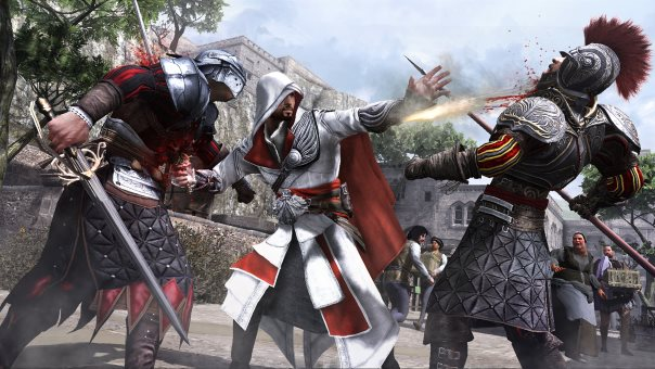 Cohesive open-world experience of Assassin's Creed: Brotherhood