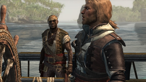 Black Flag's narrative theming in gameplay