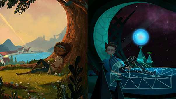 The Two Conflicting Acts of Broken Age